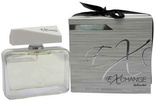 Exchange Unlimited Unisex Cologne Perfume White 100ml