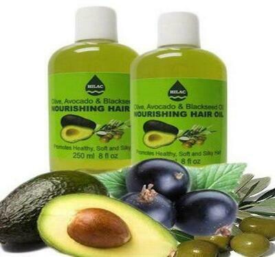 Hilac Olive, Avocado & Black Seed Nourishing Hair Oil
