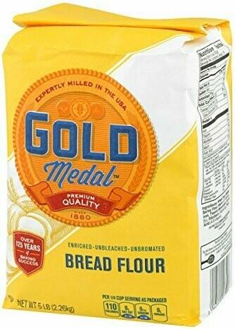 Gold Medal Bread Flour 5LBS