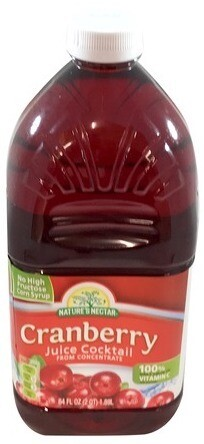 Nature's Nectar Cranberry Juice Cocktail 1.89L