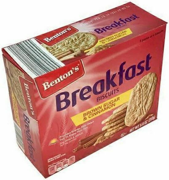 Benton's Brown Sugar & Cinnamon Breakfast Biscuits 250g