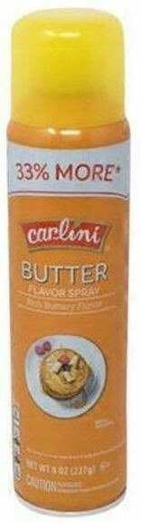 Carlini Butter Flavor Cooking Spray 8oz