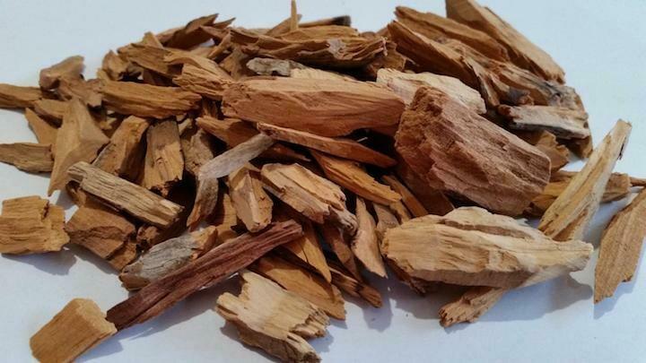olive sandalwood chips incense (Weyra enchet ethio ) 58g