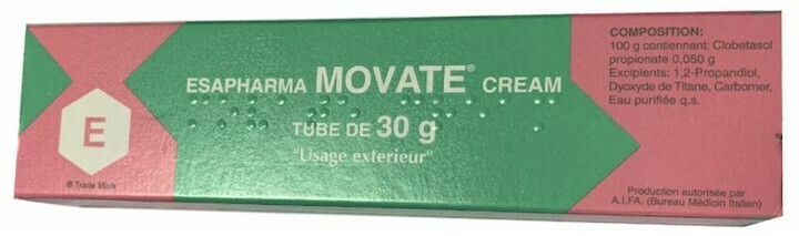 Movate Cream Tube 30g