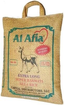 Al Afia super basmati sela rice 10lbs