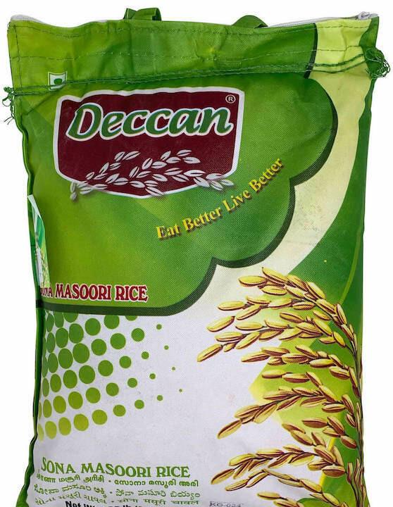 Deccan sona masoori rice 10lbs