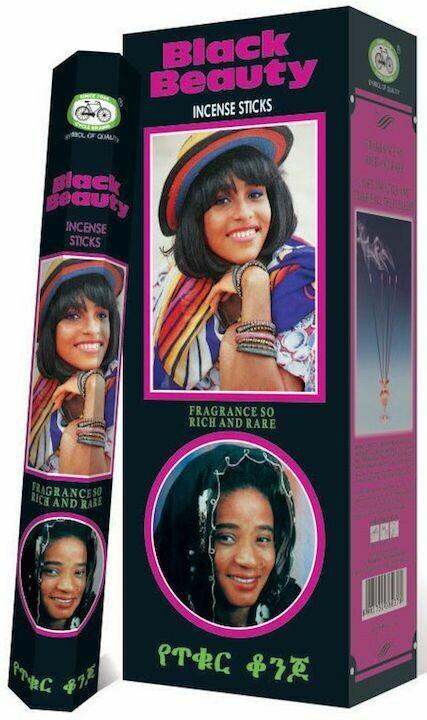 Black Beauty Sandal Incense