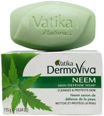 Vatika Dermoviva Neem Skin Defense Soap