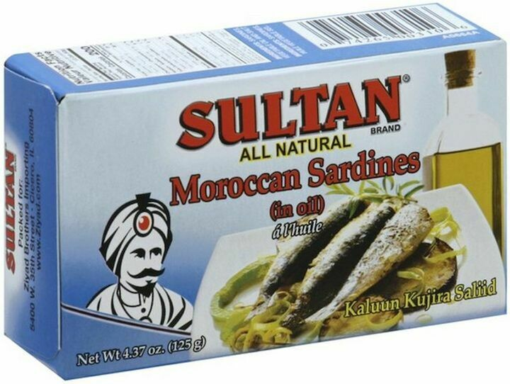 Sultan Sardines in oil 4.37oz