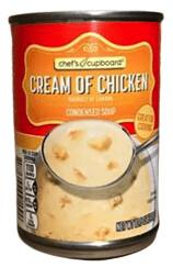 Chef's Cupboard Cream of Chicken Condensed Soup 10.5 oz