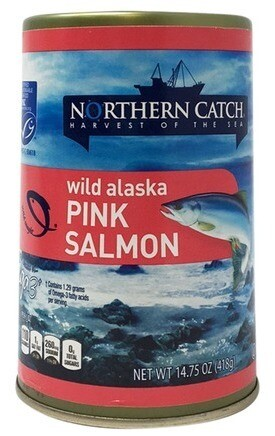 Northern Catch Pink Salmon Fish 14.75oz