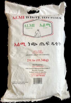 Almi white teff flour