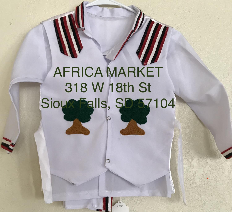 3 pcs Oromo traditional abageda boys clothing #4