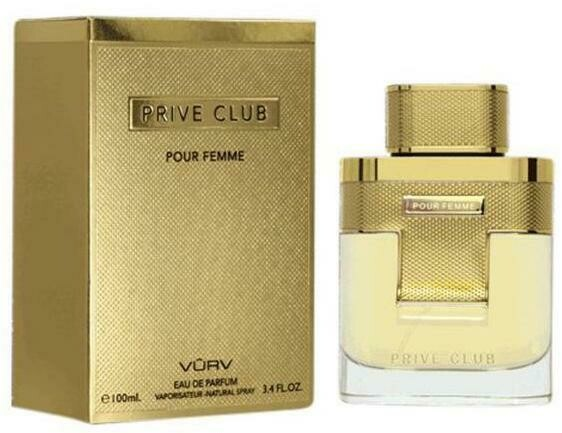 Vurv prive club perfume 100ml