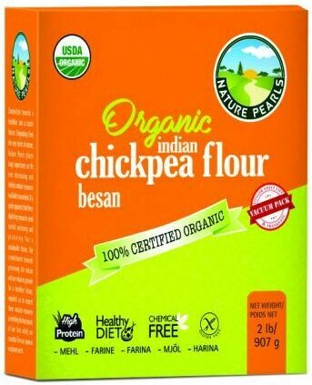 Nature Pearls organic chickpea flour