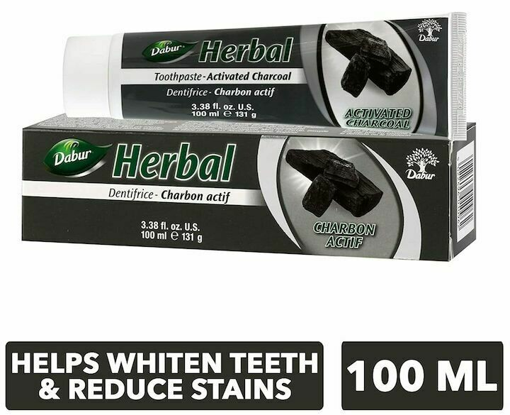 Dabur herbal charcoal toothpaste 131g