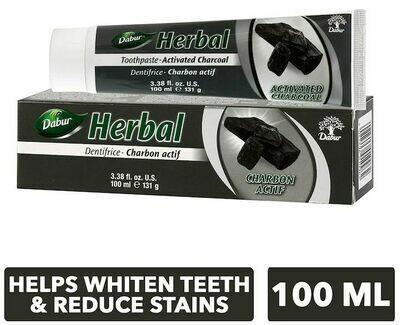 Dabur herbal charcoal toothpaste