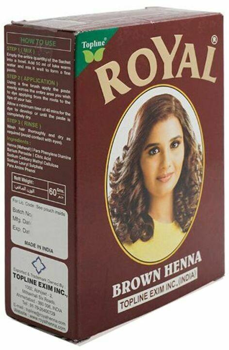 Royal brown Henna Hair Dye Color