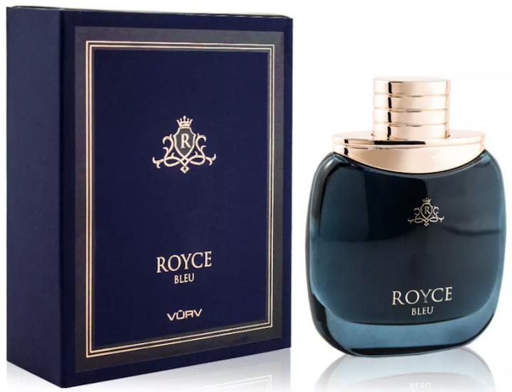 Royce blue vurv perfume