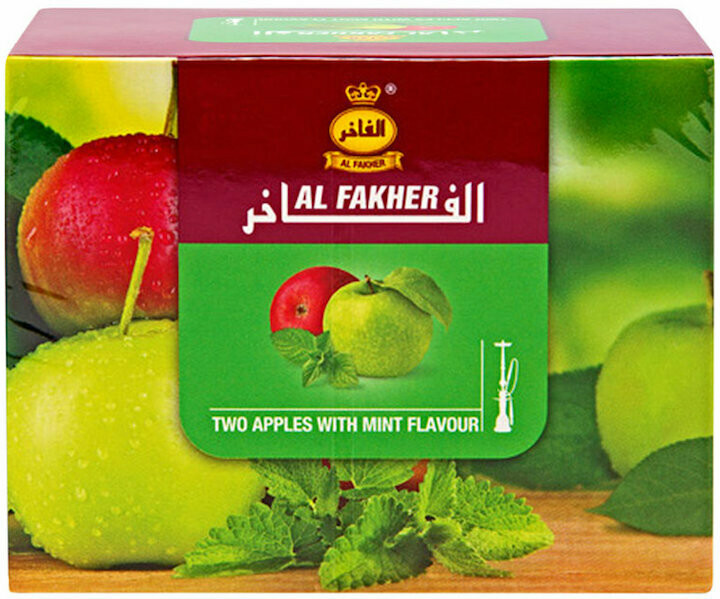 Al fakher two apples with mint flavor