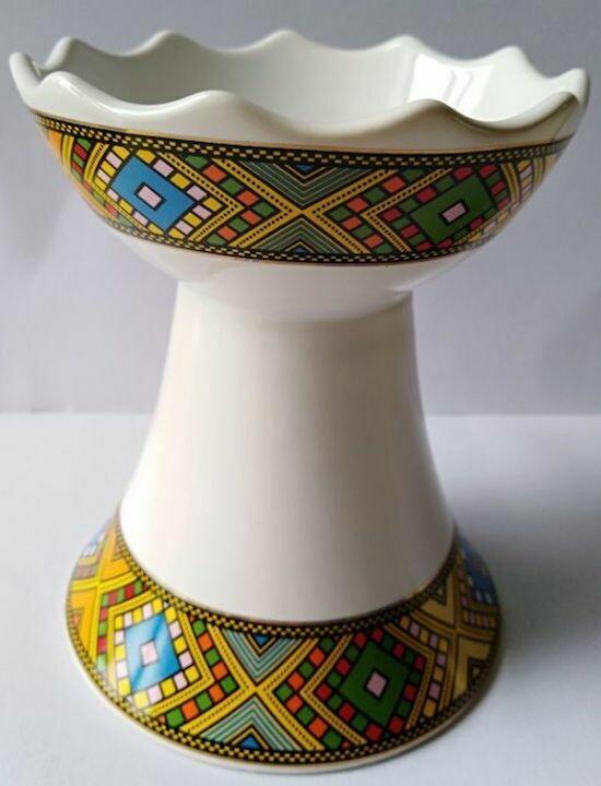 Diamond Tlet Ceramic Incense burner Machesha small