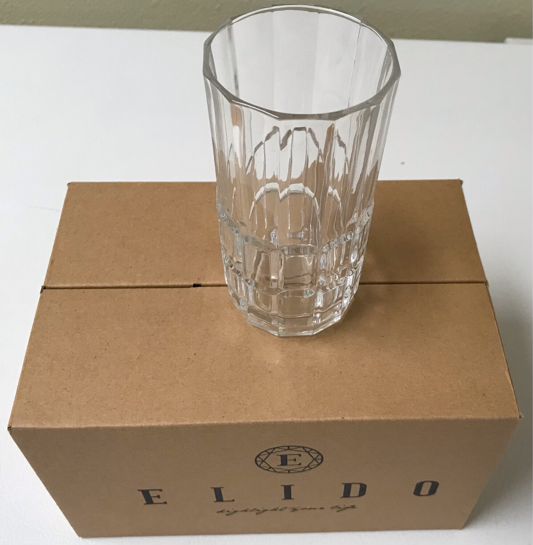 6 pcs Elido Drink Glasses