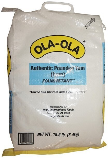Ola-Ola Pounded Yam (Iyan)