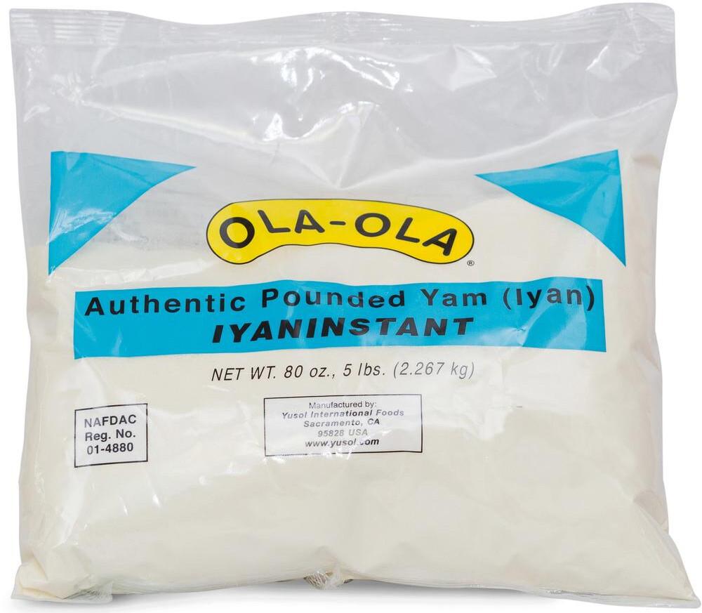 Ola-Ola Pounded Yam (lyan)