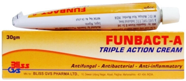 Funbact-A Tripple Action Cream