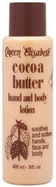 Queen Elisabeth Cocoa Butter Hand & Body Lotion