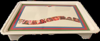 Mica Rekebot with foot (Eritrean Flag)