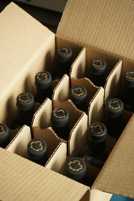 Коробка кленового сиропа 12х200 мл