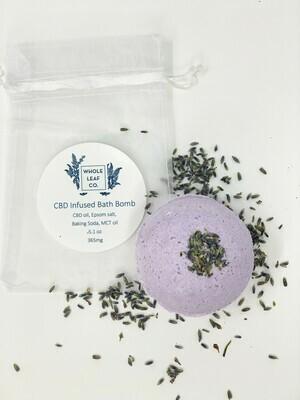 CBD Bath Bomb 365mg Lavender