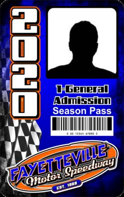 (1) General Admission Season Pass