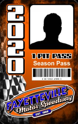 (1) Season Pit Pass