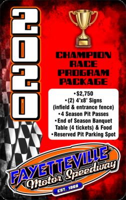 CHAMPION Race Program Package