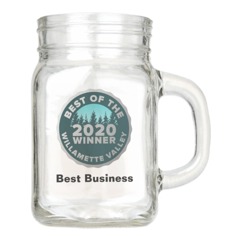 Custom Mason Jar Glass