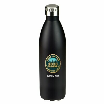 33 oz. Double Wall Stainless Steel Water Bottle