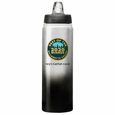 25 oz. Water Bottle with Flip Top