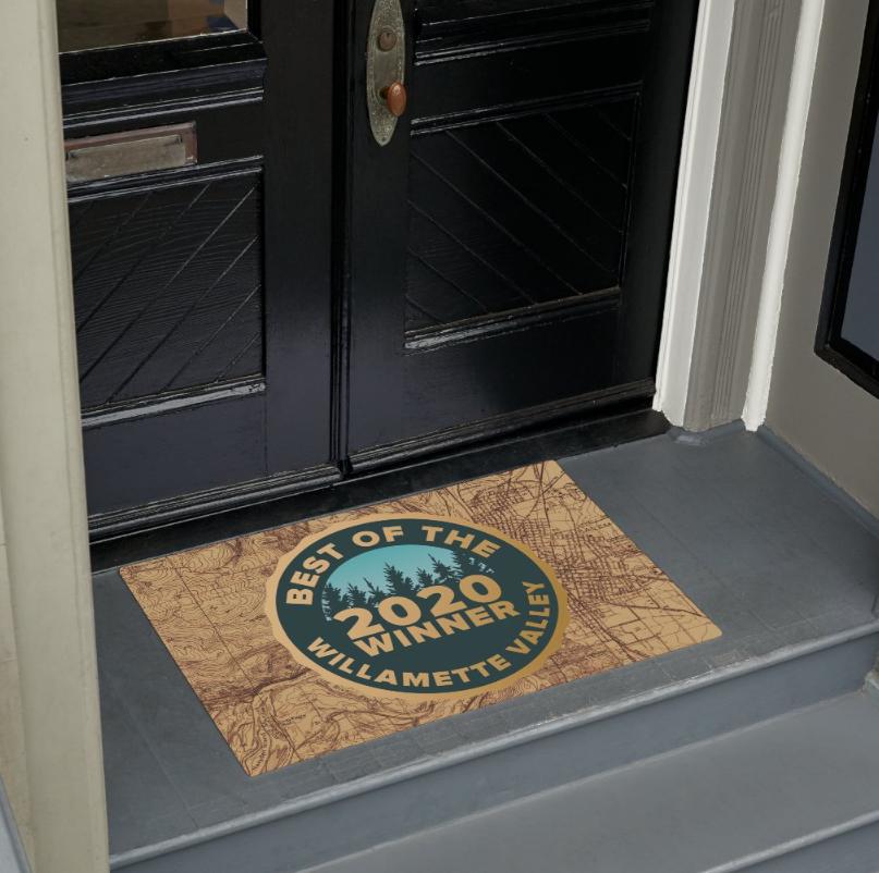 Winner's Door Mat
