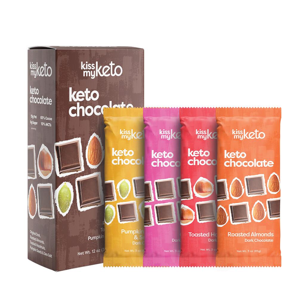Kiss My Keto Dark Chocolate Bar