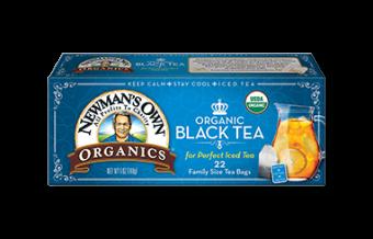 Newman's Own Organic Black Tea (22 Bags)