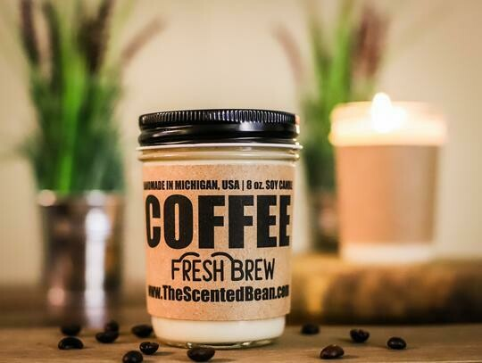 The Scented Bean Candle