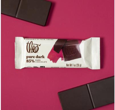 Theo Dark Chocolate (1oz)