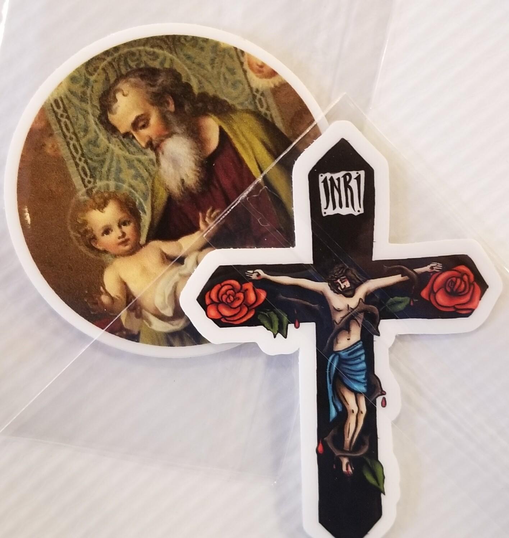 Full of Grace Sticker
