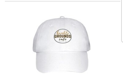 humble GROUNDS cap (White)