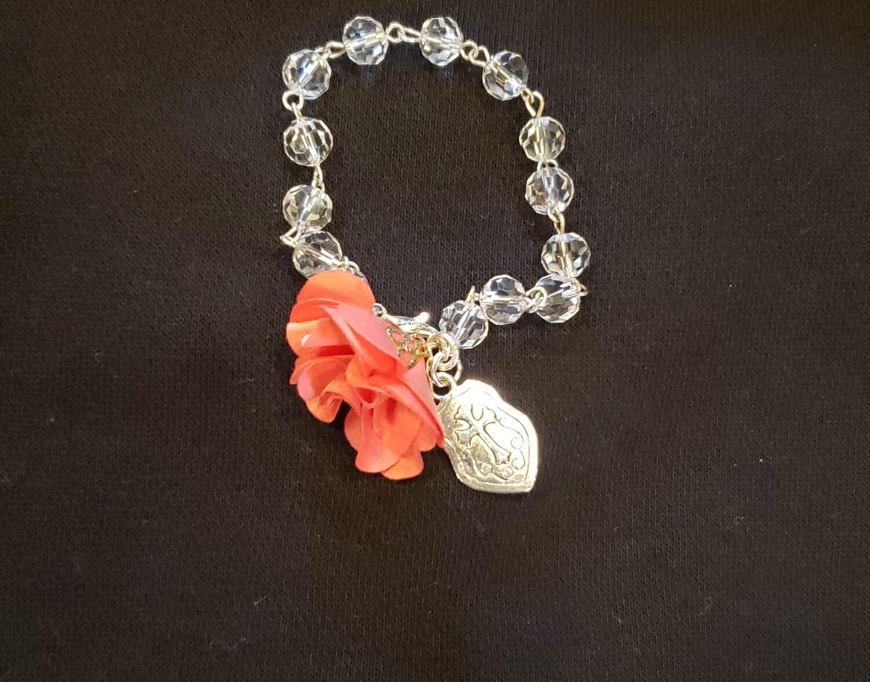 Flower and Shield Bracelet