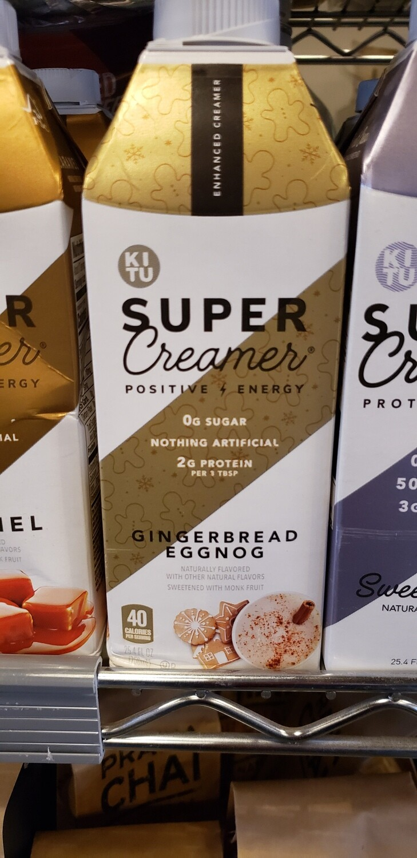Super Creamer - Gingerbread Eggnog