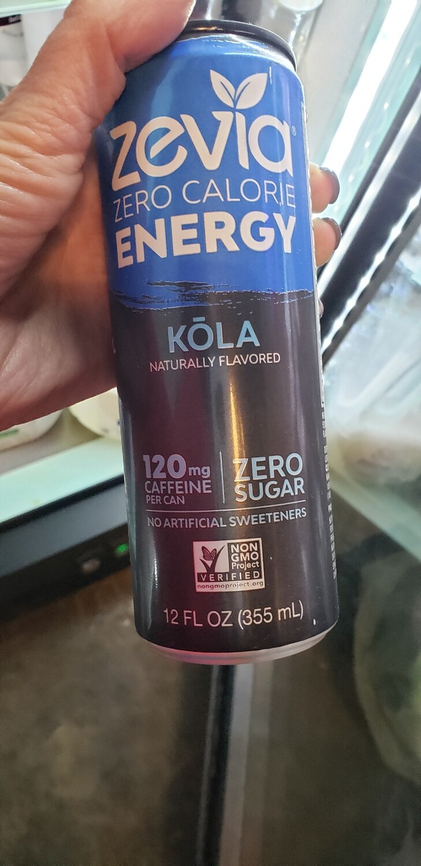 Zevia Energy - Kola
