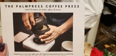 Palm Press Single Cup French Press